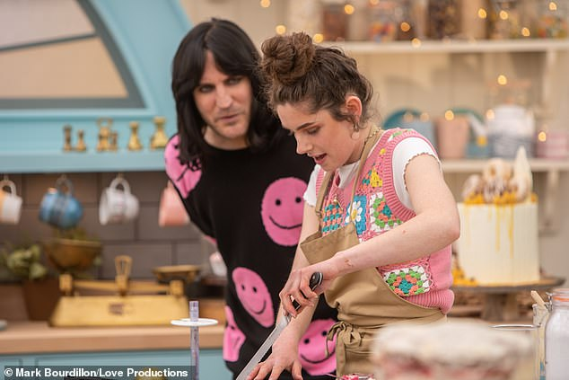 At 19-years-old, psychology student Cox is the youngest contestant among this year's cast of bakers on the show
