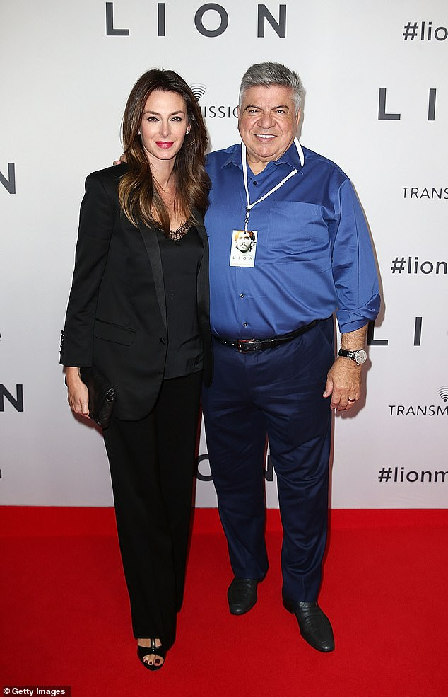 Aussie Home Loans founder John Symond (pictured with wife Amber) said the tougher rules would make it harder for first-home buyers to get mortgage approval
