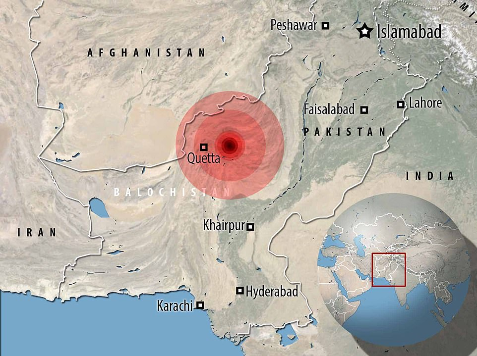 , At least 20 people are killed as earthquake hits Pakistani city of Quetta, Nzuchi Times National News