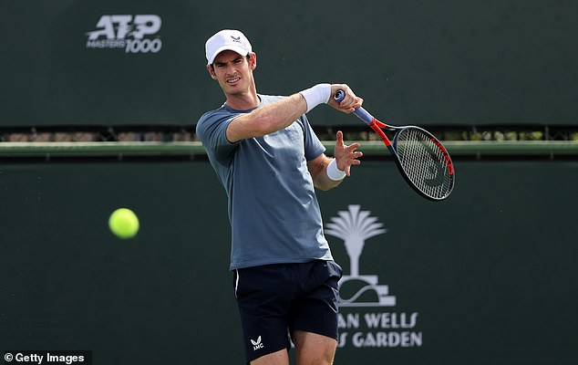 The 34-year-old prepares for the Indian Wells tournament in California this week