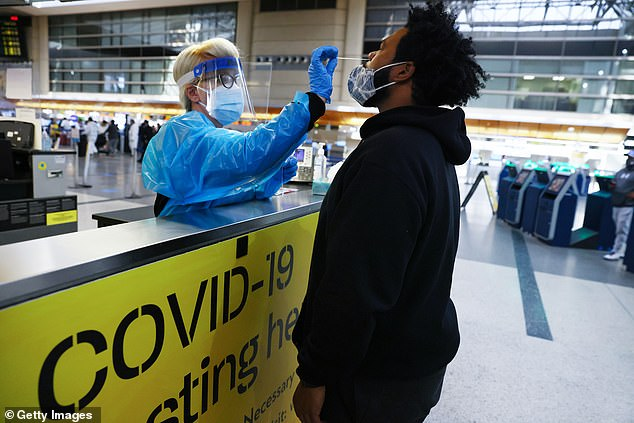 Travelers will already have to pay £25 for a lateral flow test from 25 October if they are double-vaccinated under the new rules
