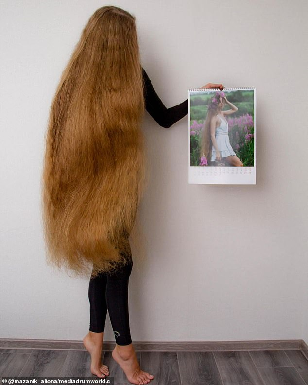 While she is proud of her locks, Alina said she has received criticism online, with some making fun of her 'horsetail' hair
