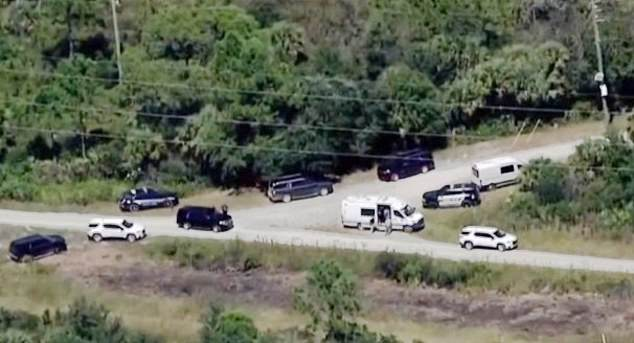 The police who are searching for Brian Laundrie have found the remnants of a 'fresh campsite' at the Carlton Reserve in Florida in the latest development of the case