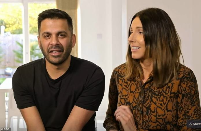 Thrilled: Parents Victoria and Raheel were delighted with the results of their £100,000 major home renovation