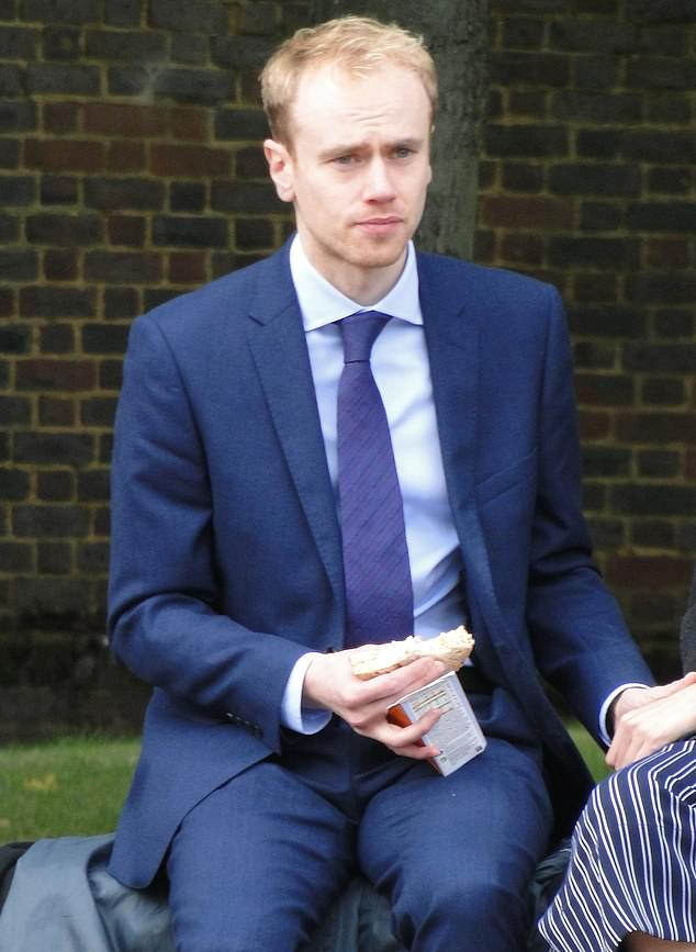 Trainee solicitor Tom Hagyard, 29 was accused of raping a drunk law student and molesting another sleeping woman at a party in Fulham, West London in 2017