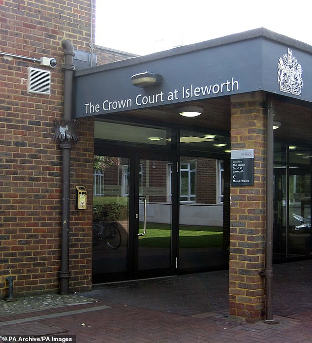 Hagyard told Isleworth Crown Court (above) he had chatted with both complainants that night and told police the first woman was a 'willing and enthusiastic' partner, denying he raped her