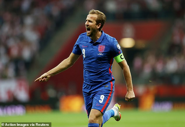 But Kane's displays for England do not differ too sharply from his Spurs performances