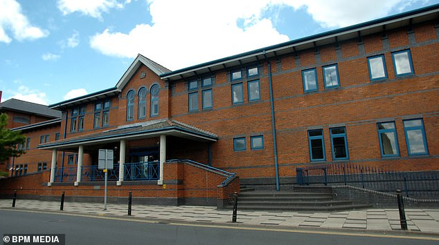 Giving evidence on the third day of her trial at Stoke-on-Trent Crown Court (pictured), Green accepted that some incidents had taken place but there was nothing sexual involved and she was not aware at the time they were against the law