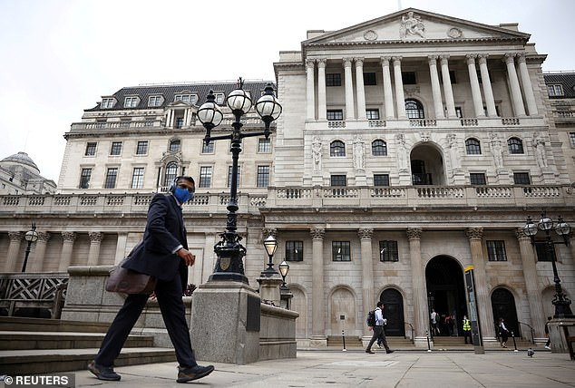 The Bank of England sounded the alarm last month over a bigger-than-expected rise in inflation