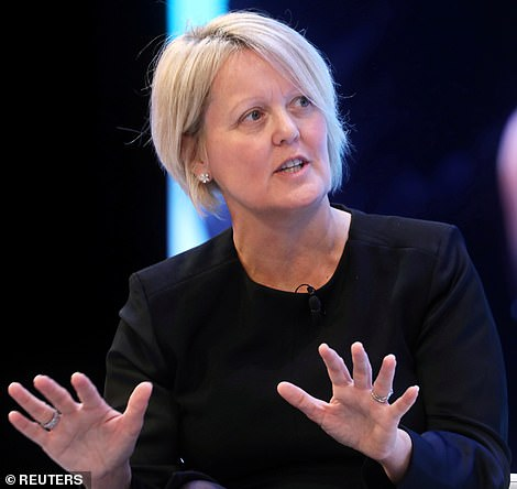 Chief executive Alison Rose (pictured) said NatWest 'deeply regrets' its failure to stop money laundering by one of its customers between 2012 and 2016