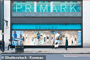 Primark was listed among brands selling themselves on using recycled bottles in clothing