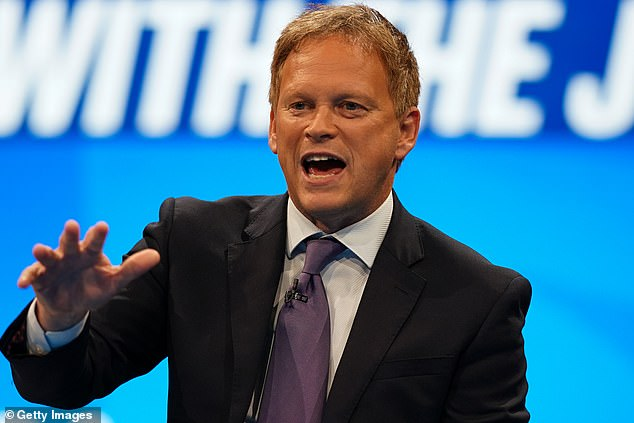 Government ministers are said to be considering scrapping the expensive and controversial hotel quarantine programme. Pictured: Transport Secretary Grant Shapps