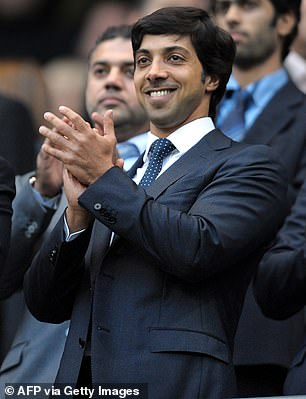 Man City's Sheikh Mansour had topped the list as the Premier League's wealthiest owner