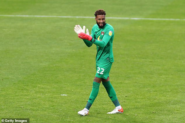 Lawrence Vigouroux posted the racist Instagram abuse he received on Twitter last weekend