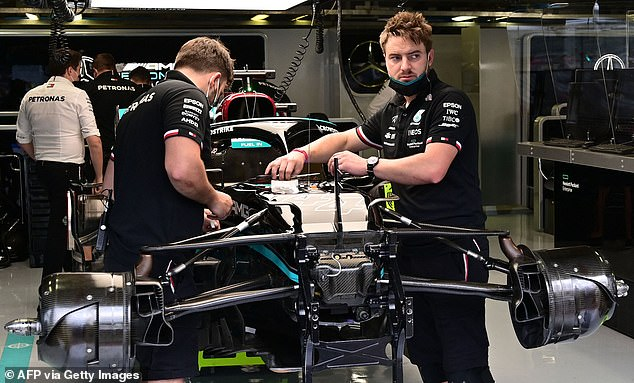 The Mercedes ace has been forced into an engine change taking over its season allocation