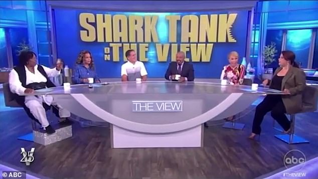 , Shark Tank's Barbara Corcoran SLAMMED by fans for making a fat joke at Whoopi Goldberg on The View, The Today News USA