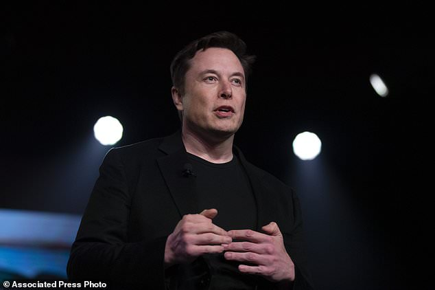 Tesla CEO Elon Musk speaks before unveiling the Model Y at the company's design studio in Hawthorne, Calif.  Tesla says it will move its headquarters from Palo Alto, California to Austin, Texas, though the electric car maker will continue to expand its manufacturing capacity.  in the golden state