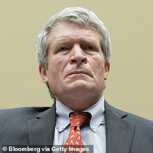 Former chief White House ethics lawyer Richard Painter (pictured) claims Biden's attendance at the show 'illustrates how this veil-of-secrecy idea is not happening'