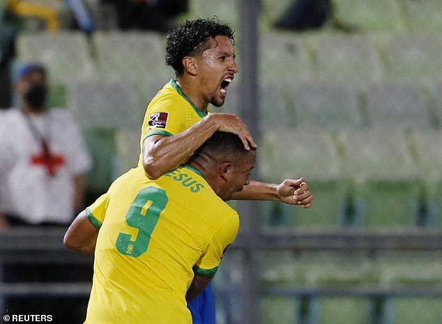 Brazil fought back from a goal down to score three times and record a win over Venezuela