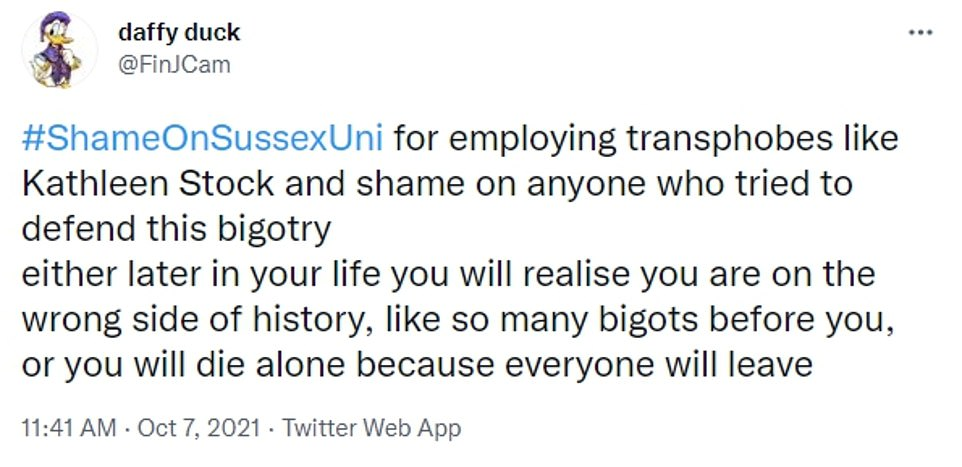 , Sussex University professor blasts trans rights mob bullying her, The Today News USA