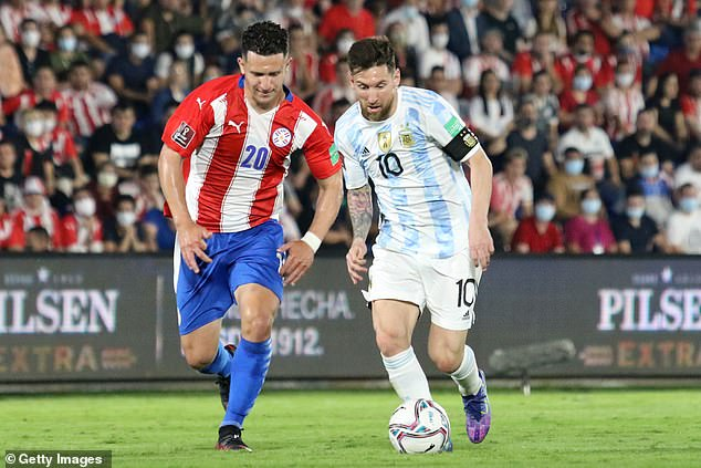 The Argentina captain struggled to influence proceedings with the game lacking excitement