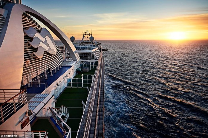 Princess Cruises' 12-night, round-trip British Isles cruise sets sail from Southampton next May