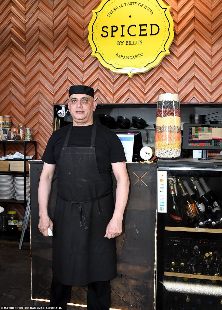 Spiced's chef is busy preparing for his restaurant to reopen after it was shut for more than three months in lockdown