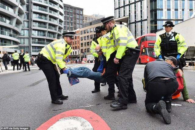 Today's disruption at the Old Street roundabout is the latest of a series of protests that has seen the group draw the ire of the public