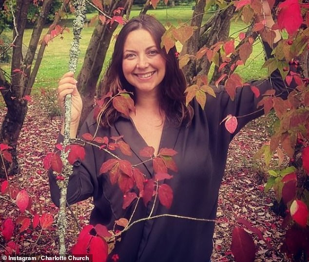 The Candidate: Charlotte Church has revealed that she welcomed her third child, daughter Freda, under a tree after deciding to build a 'birth palace' in their backyard.