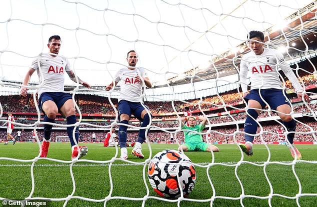 In four matches, the only Premier League goal Ramsdale has conceded has come against Tottenham in which the Gunners still went on to record a comfortable 3-1 victory