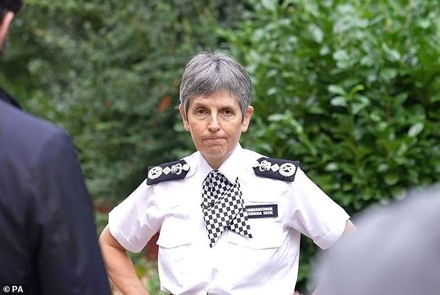 Dame Cressida said Baroness Casey - who has been leading an inquiry into how England yobs were able to break into Wembley during the Euros final - was a strong candidate for the job