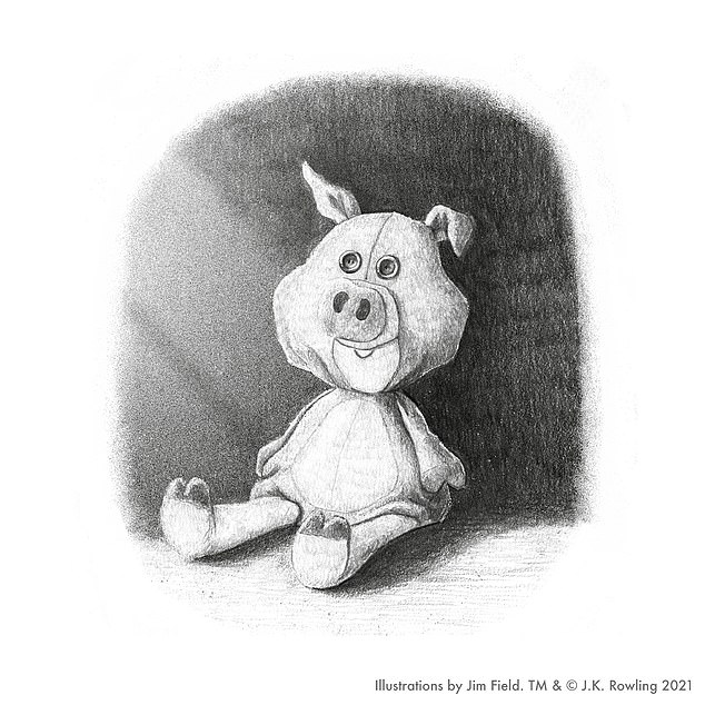 The Christmas Pig is the story of a little boy called Jack who has a very special comfort toy – a pig – that one day he loses