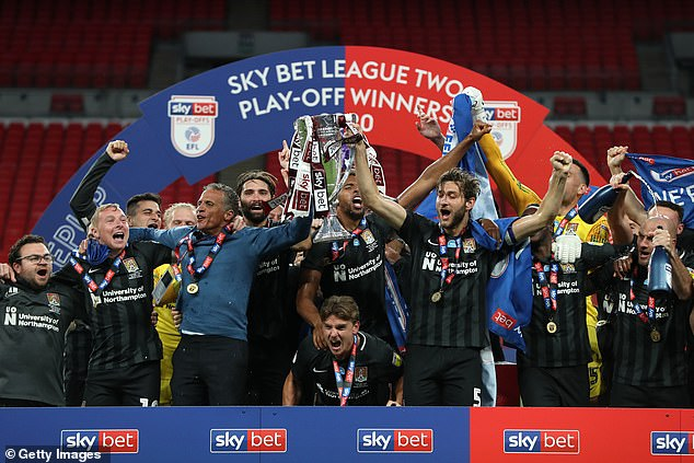 The introduction of salary limits in League One and League Two was halted earlier this year.