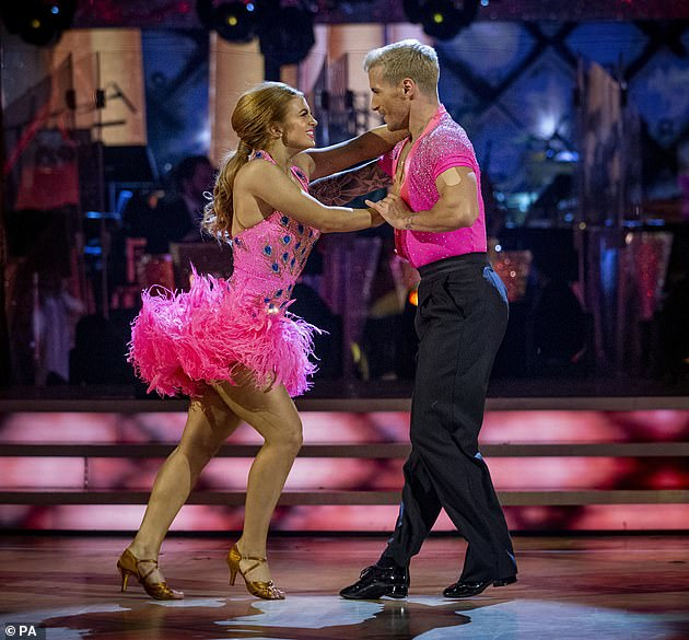 Twinkle Toes: Messi finished runner-up in Strictly Come Dancing last year after competing with 31-year-old professional Gorka Marquez