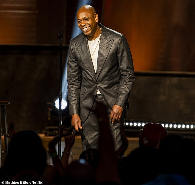 Mentor: The media outlet stated that Chappelle is one of several comedians who have been enlisted to support the reality TV star as she dives into her new endeavor; seen in his new Netflix special Closer