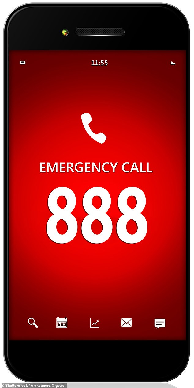 The phone number may be 888 and can be used to provide emergency assistance for women who feel threatened