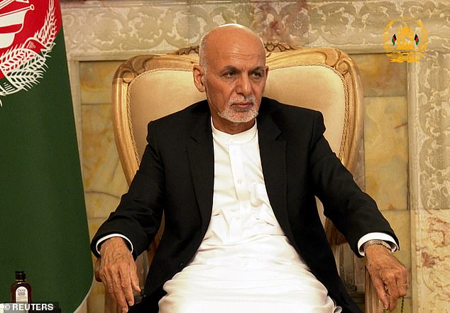 Until a few weeks ago he was in charge of the day-to-day security of President Ashraf Ghani (pictured), who ¿ as head of state ¿ was the personification, in theory at least, of the West's efforts to secure a democratic, pluralistic Afghanistan