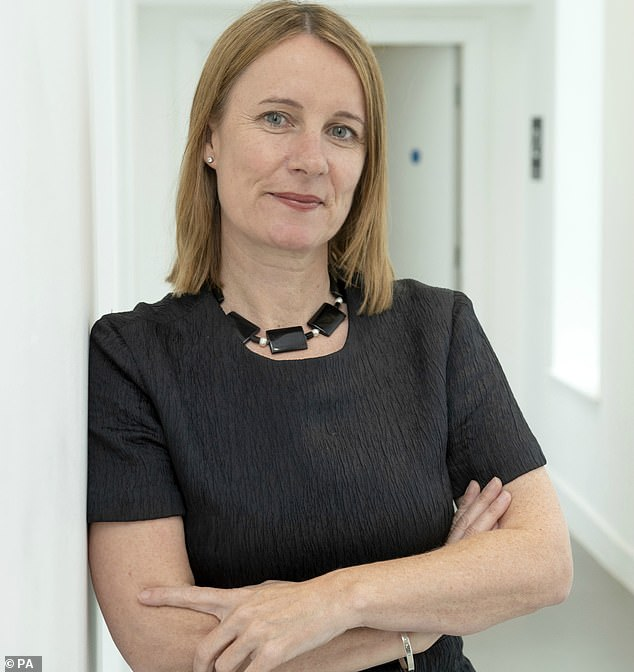 In a hard-hitting letter, the head of Cancer Research UK (pictured, Michelle Mitchel) pleads with leaders to improve detection, diagnosis and treatment to prevent survival rates from slipping backwards