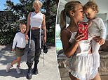 Tammy Hembrow shares adorable new snaps alongside her five-year-old daughter Saskia