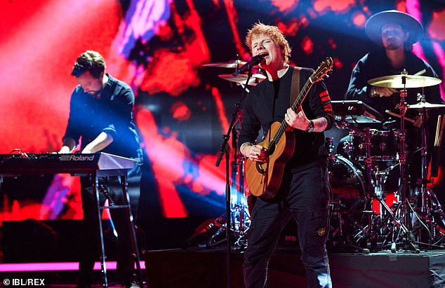 , Ed Sheeran looks in his element as he takes to the stage inStockholm, The Habari News New York