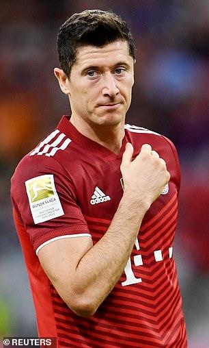 Lewandowski has put in career-best performances for Bayern Munich