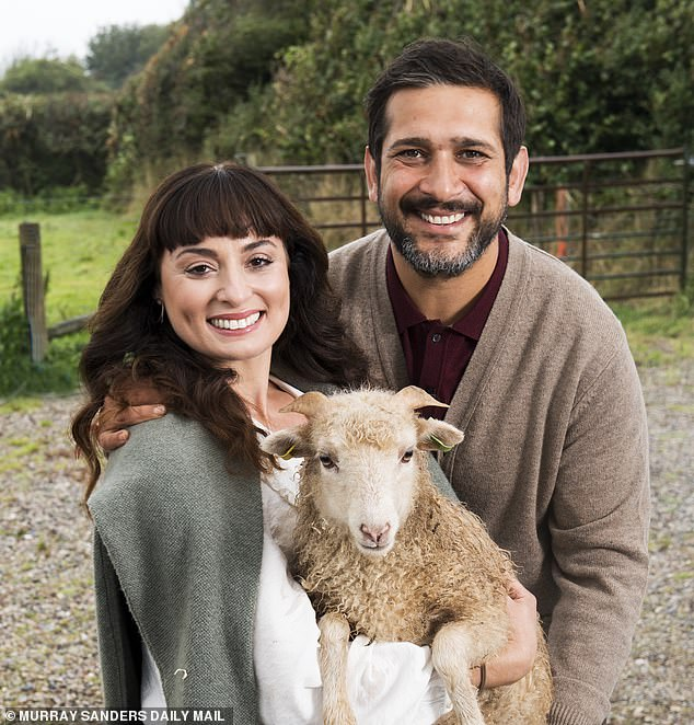 The couple blamed lockdown for manifesting a 'mad life dream' as they left showbiz behind for a life in the Devon countryside