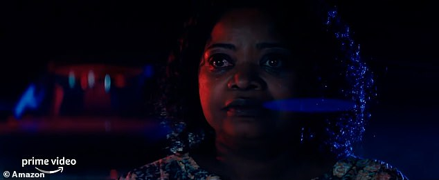 Star-studded: Rise stars with Octavia Spencer (pictured), Janina Gavankar, Rory Cochran and Lucian-River Chauhan