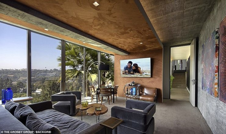 Unique: In contrast with the dominating hardwood design, the bedrooms are carpeted and feature expansive views of the area