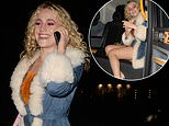 Pixie Lott shows off leggy figure as she heads home after night out in Mayfair