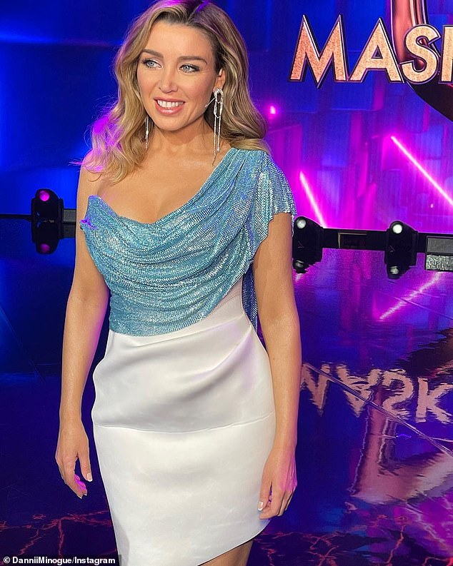 Wow! Despite her incredible figure and youthful looks that could easily have her pass for a woman decades younger, The Masked Singer Australia judge admits her workout routine and diet are 'shocking' at times.Pictured recently on The Masked Singer Australia