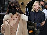 Dakota Johnson and Kirsten Dunst attend Deadline's Contenders Presentation in London