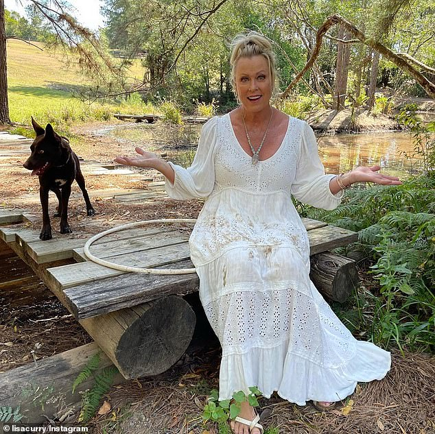 Oh dear!Lisa Curry (pictured) has revealed that her skin has suffered due to her athletic lifestyle - and some people have been rather unkind about it. The swimmer, 59, says she was once told she looked like a reptile - and she was not amused