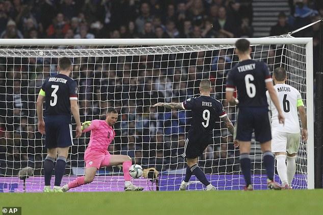 The Queens Park Rangers striker slammed the ball straight at Israel keeper Ofir Marciano