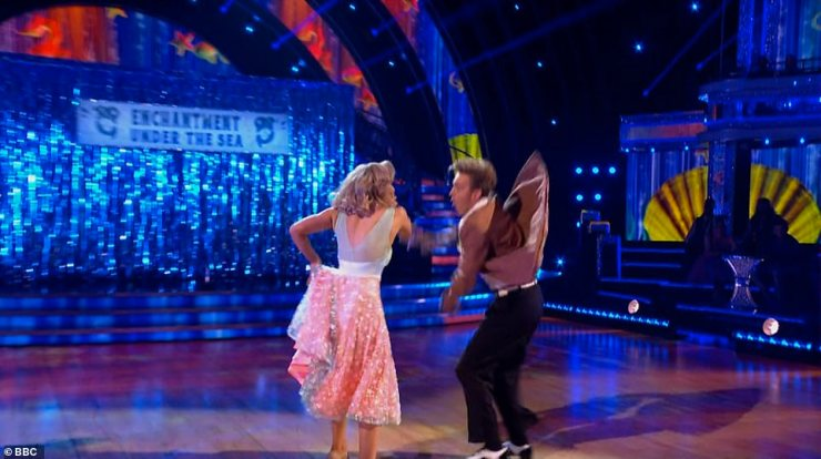 Sad: It comes after Tom and Amy were both forced to miss last week's Strictly's after announcing they'd tested positive for coronavirus